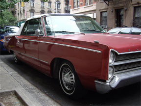 1967 Plymouth Fury III Convertible - Picture Car